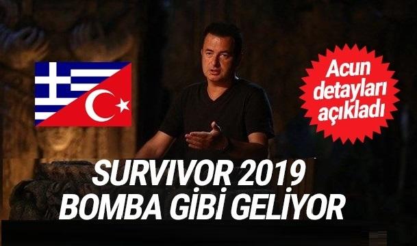 Survivor 2019 Bomba Gibi Geliyor!
