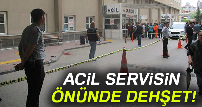 Ümraniye Eğitim ve Araştırma hastanesi'nde silahlı saldırı: 2 ölü