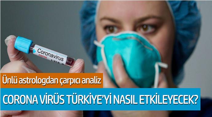 Ünlü Astrologdan çarpıcı analiz: Corona Virüs Türkiye'yi nasıl etkileyecek?