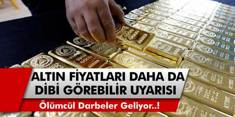 Altın analistlerinden uyarı geldi! Ölümcül darbeler geliyor ve altın daha da dibi görebilir…