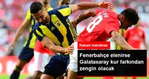 Fenerbahçe Elenirse, Galatasaray'ı Zengin Edecek