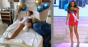 Kainat Güzeli Gorgeous Daniella Alvarez'in Bacağı Kesildi
