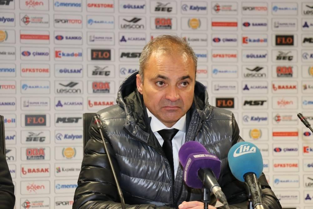 Gazişehir Gaziantepspor - Ankaragücü maçının ardından