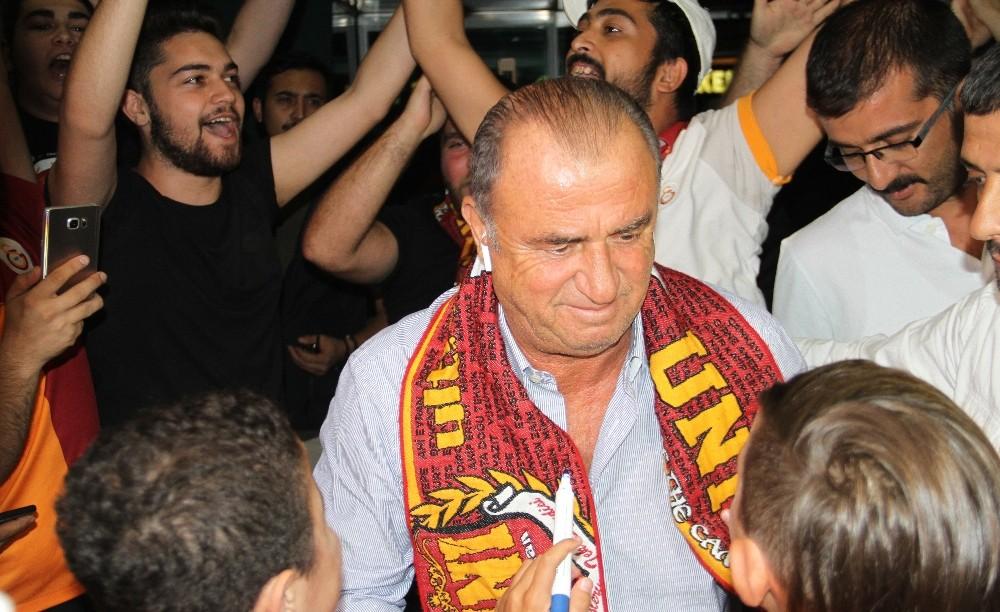 Galatasaray, 2018-2019 sezonunun açılış maçı için Ankara'ya geldi