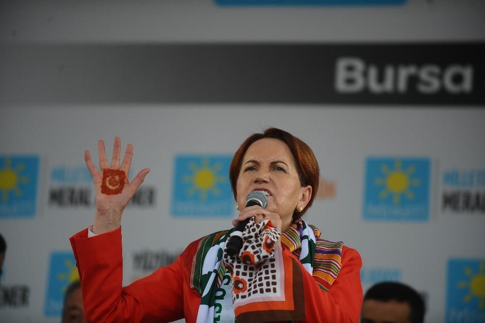 """Akşener: """"İYİ Parti olmasaydı Erdoğan'ın birinci turda kaç puanla geçiyor olduğunu konuşacaktık"""""""