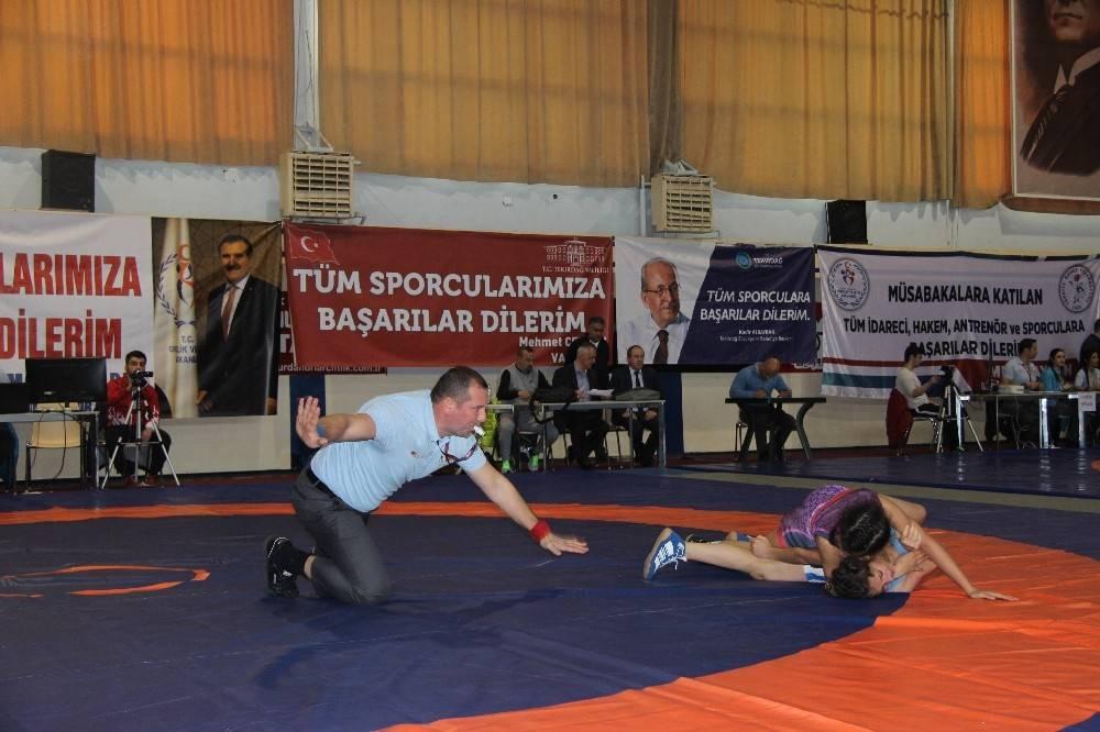 Yıldız Kadınlar Türkiye Şampiyonası Tekirdağ'da başladı
