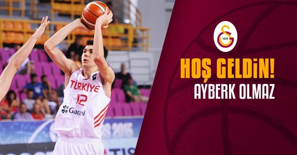 Galatasaray, Ayberk Olmaz ile sözleşme imzaladı