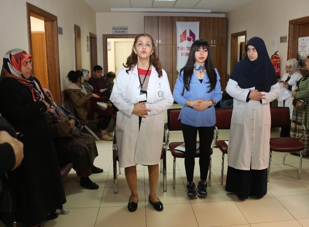 ERÜ Hastanelerinde 'Pulmoner Rehabilitasyon Haftası' etkinliği düzenlendi