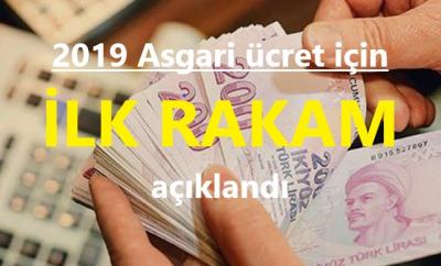 2019 Asgari Ücret İçin İlk Rakam Açıklandı!