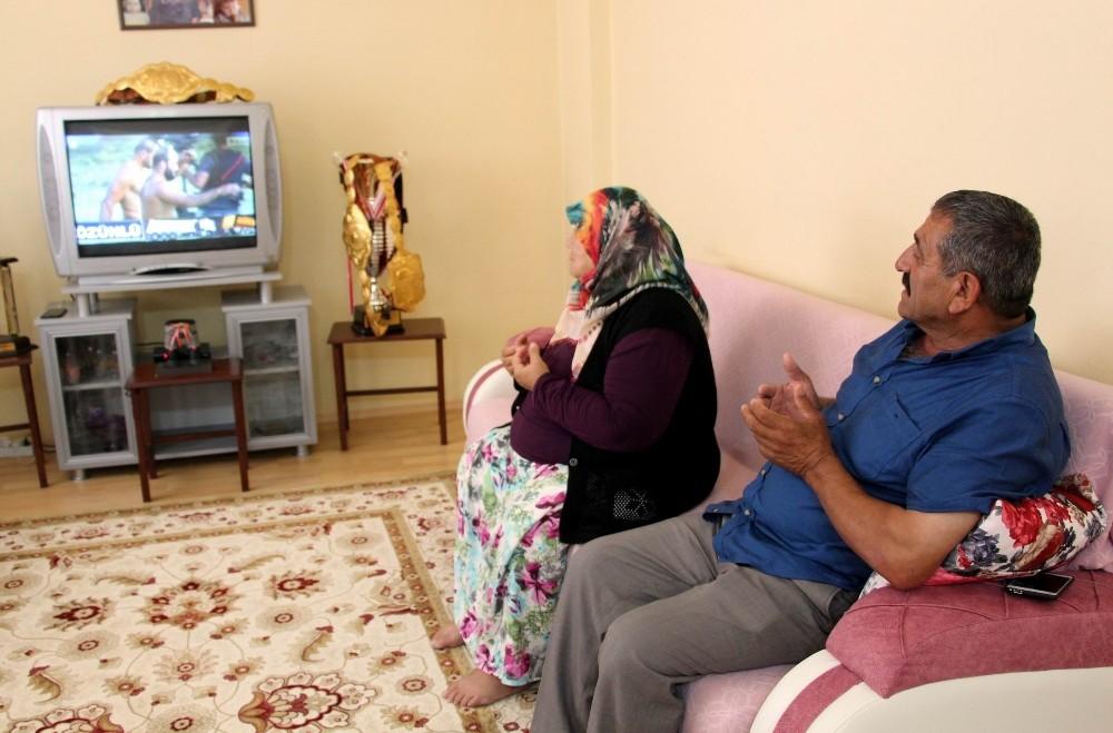 Şaban Yılmaz'ın evinde ikincilik üzüntüsü