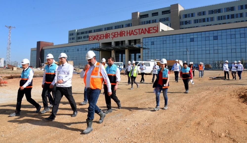 Eskişehir'in sağlık üssünde sona yaklaşıldı