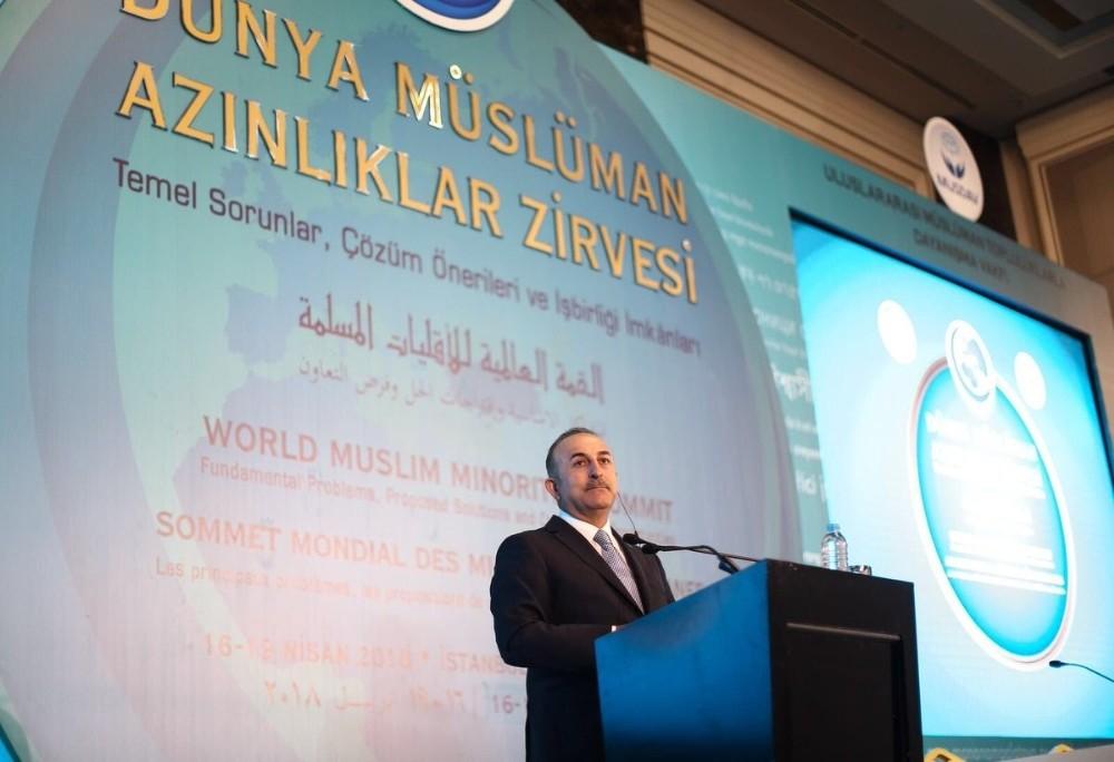 """Mevlüt Çavuşoğlu: """"24 Haziran seçimlerinin Türkiye'yi daha güçlü, daha istikrarlı yapacağına inanıyoruz"""""""