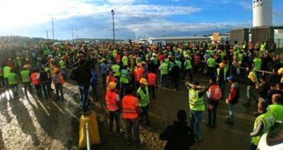3. Havalimanı İnşaatında Eyleme Katılan 24 İşçi Tutuklandı