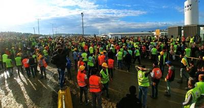 3. Havalimanında Eylem Yapan İşçiler İstediklerini Aldı