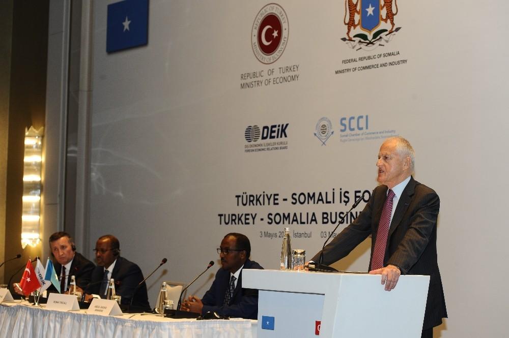 Yırcalı Türkiye - Somali Formuna başkanlık yaptı