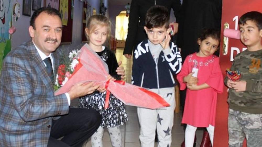Çandıroğlu, ilçe öğrenci meclis başkanları ile buluştu
