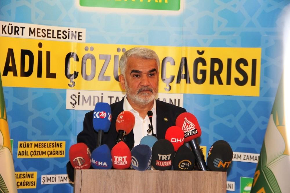 """Hüda Par Genel Başkanı Yapıcıoğlu: """"Parti olarak seçime hazırız"""""""