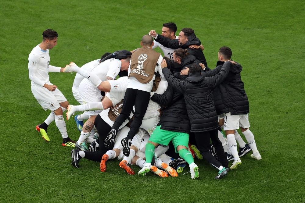 2018 FIFA Dünya Kupası: Mısır: 0 - Uruguay: 1