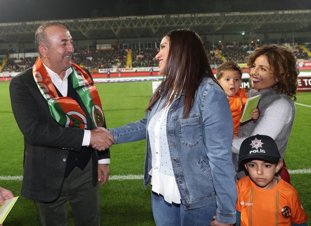 Spor Toto Süper Lig: Aytemiz Alanyaspor: 1 - Medipol Başakşehir: 0 (İlk yarı)