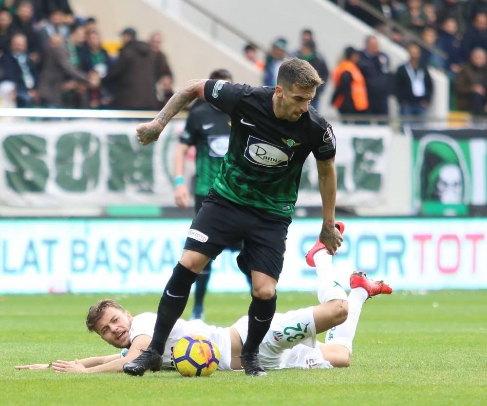 Spor Toto Süper Lig: T.M. Akhisarspor: 1 - Bursaspor: 0 (Maç sonucu)