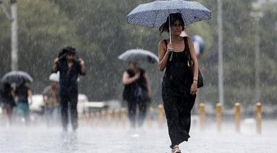 5 İl İçin Sağanak Yağış Uyarısı