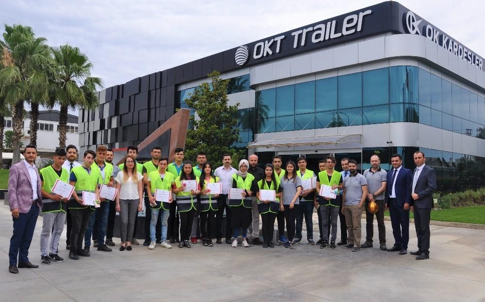 Gençler OKT Trailer'de tecrübe kazandı