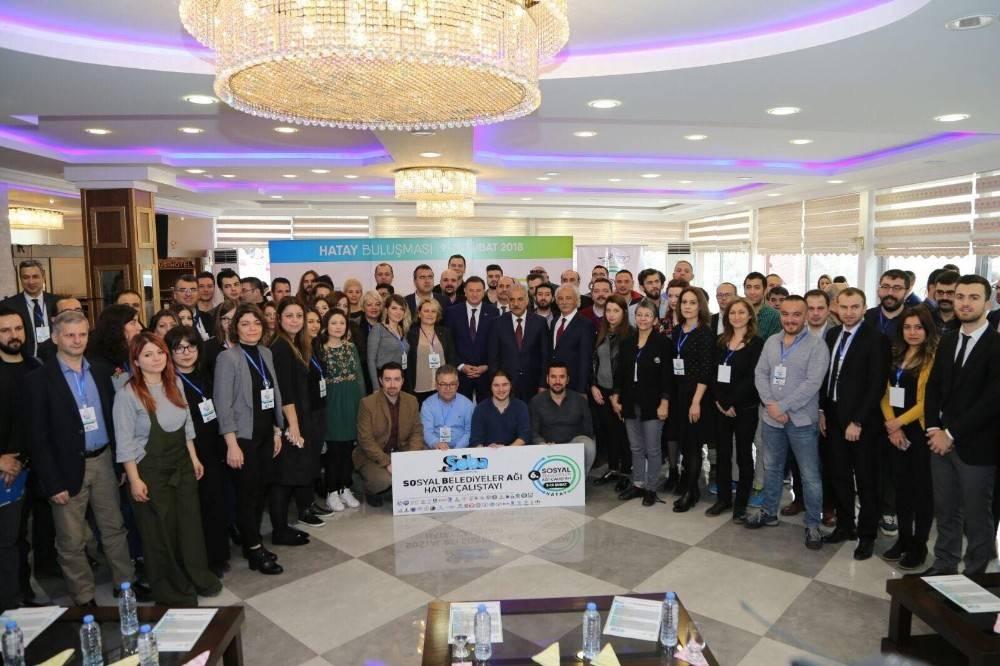 Hatay'da Sosyal Belediyeler Ağı Çalıştayı