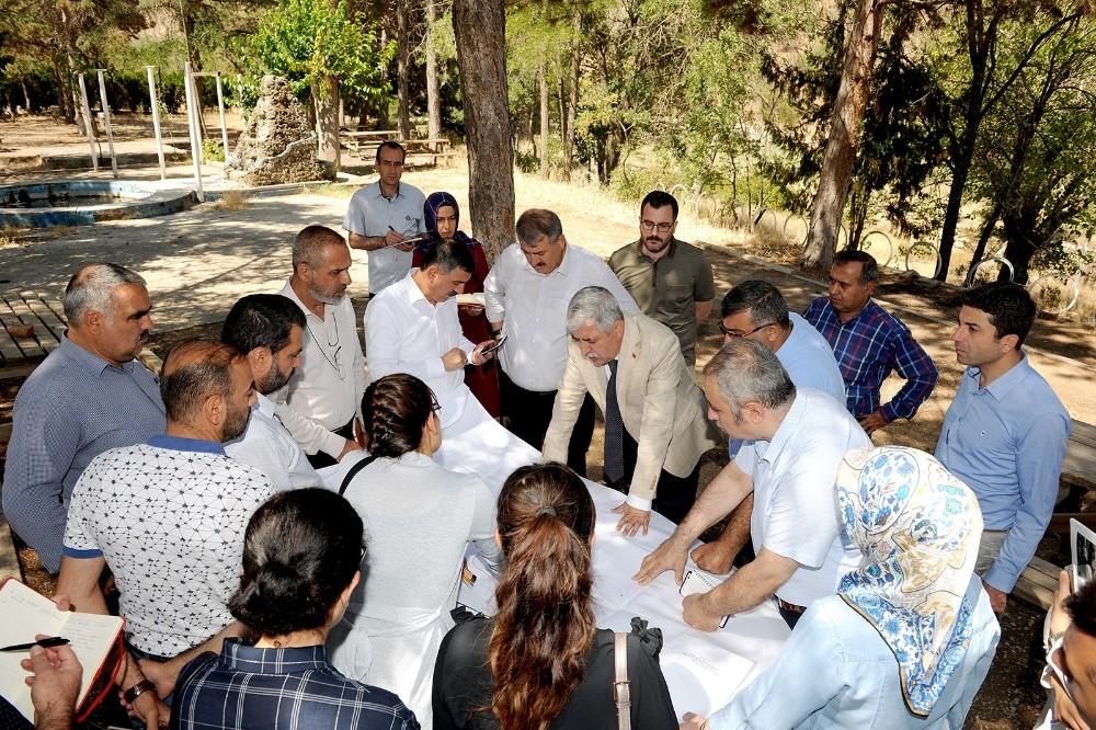 Battalgazi'ye 900 dönümlük yeni tabiat parkı yapılıyor