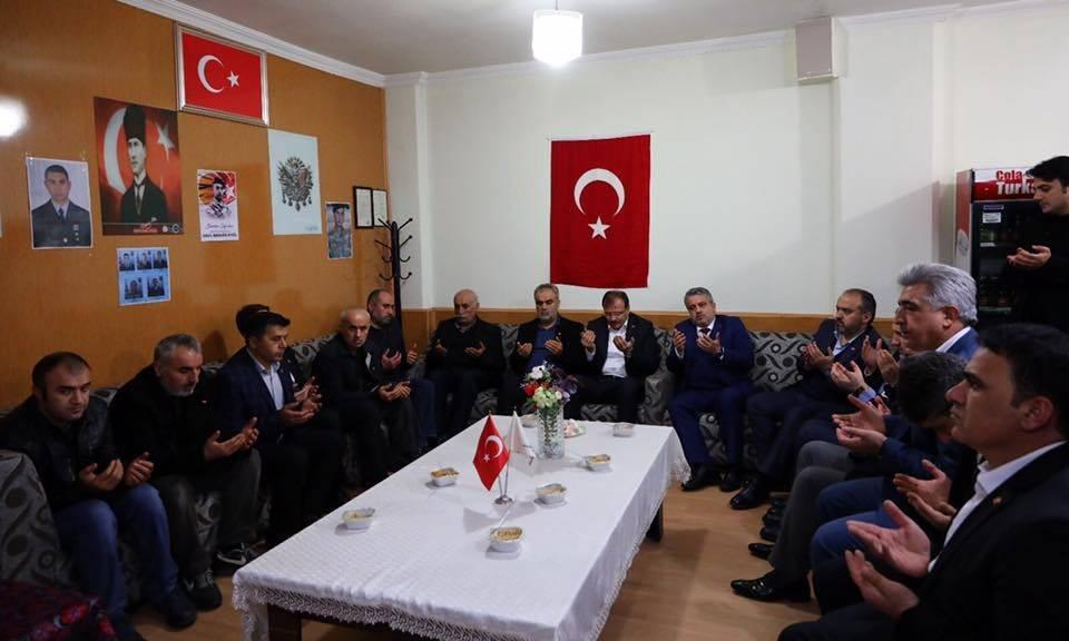 Çavuşoğlu: ″Şehidimiz artık tüm Türkiye'nin evladıdır″