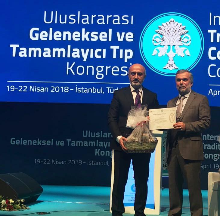 Aksu Vital, Uluslararası Geleneksel ve Tamamlayıcı Tıp Kongresi'ne katıldı