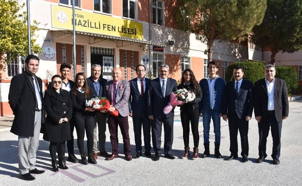 Nazilli Fen Lisesi'ne 2 milyonluk yatırım