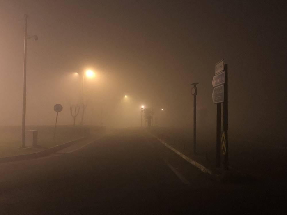 Çorlu'da hava ulaşımına sis engeli