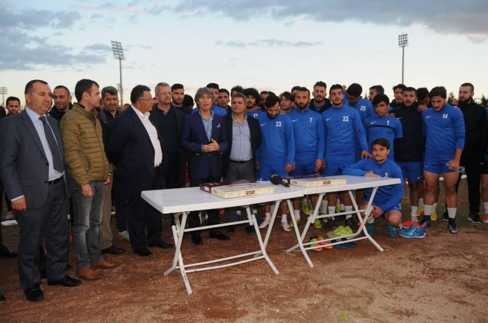 MGC'den Mersin İdmanyurdu'na destek ziyareti