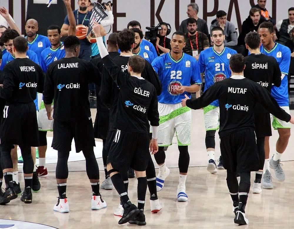 PTT Erkekler Türkiye Kupası: TOFAŞ: 86 - Beşiktaş Sompo Japan: 79