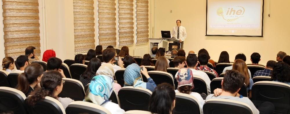 GAÜN'de gıda endüstrilerinde mühendisliğe bakış konferansı