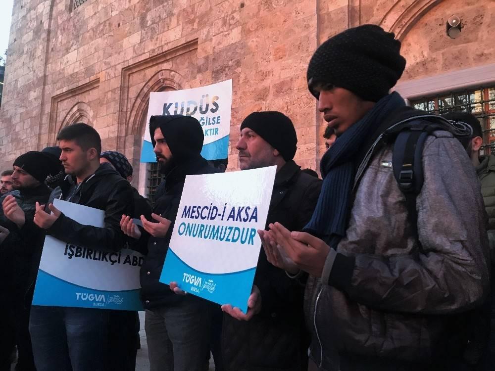 Amerika'nın Kudüs kararına Bursa'dan tepki