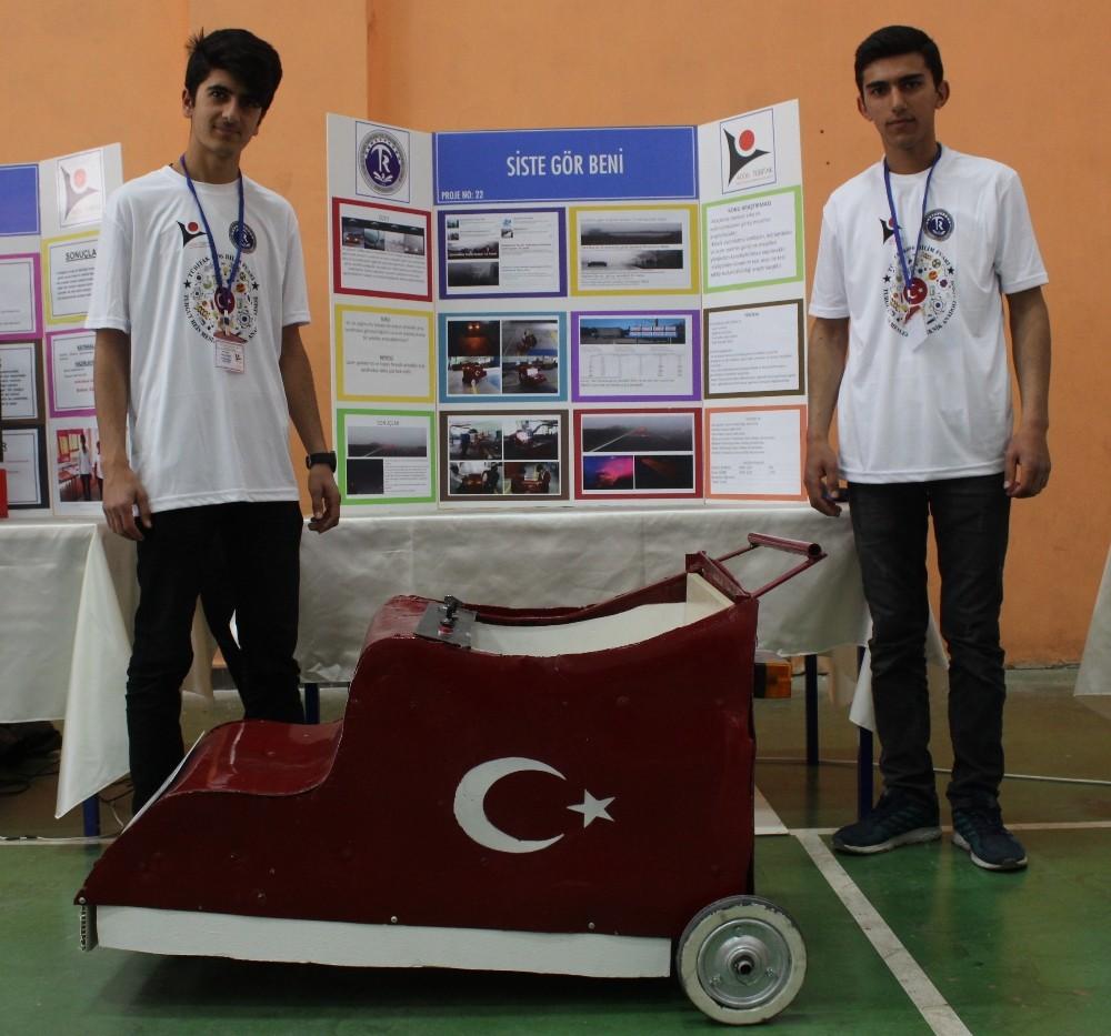 Genç yetenekten Türk malı sis farı