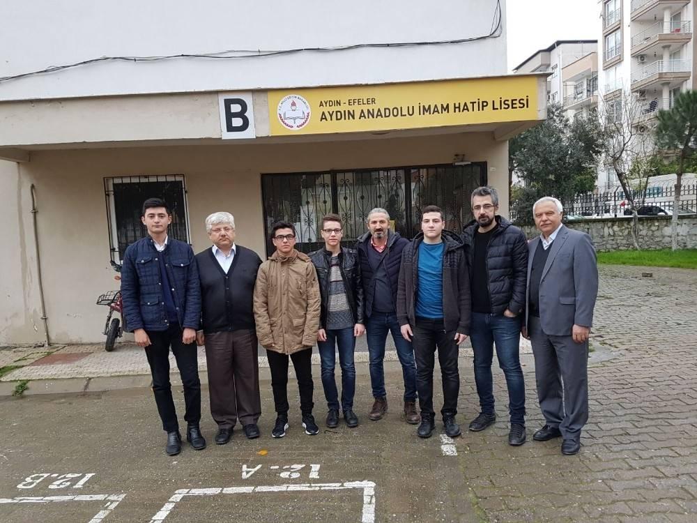Aydın Anadolu İmam Hatip Lisesi'nden büyük başarı