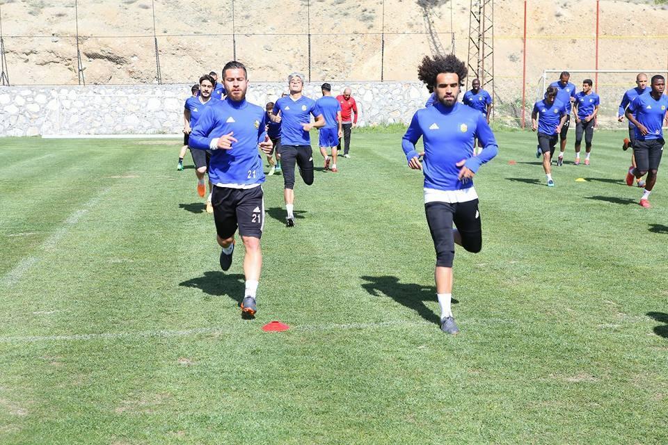 Evkur Yeni Malatyaspor tam kadro çalıştı