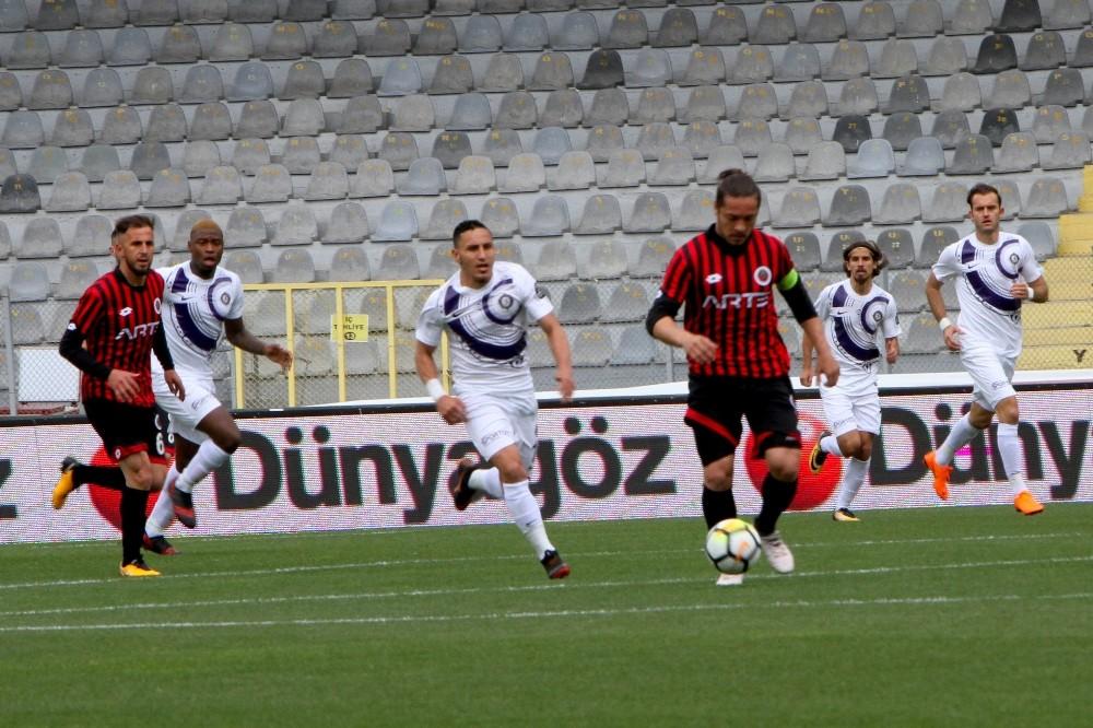 Spor Toto Süper Lig: Gençlerbirliği: 0  - Osmanlıspor: 1 (İlk yarı)