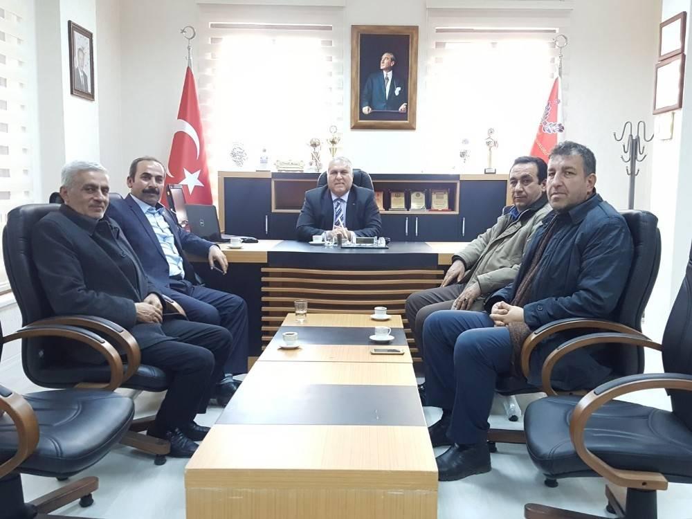 STK Temsilcileri Emniyet Müdürü Avan ile bir araya geldi