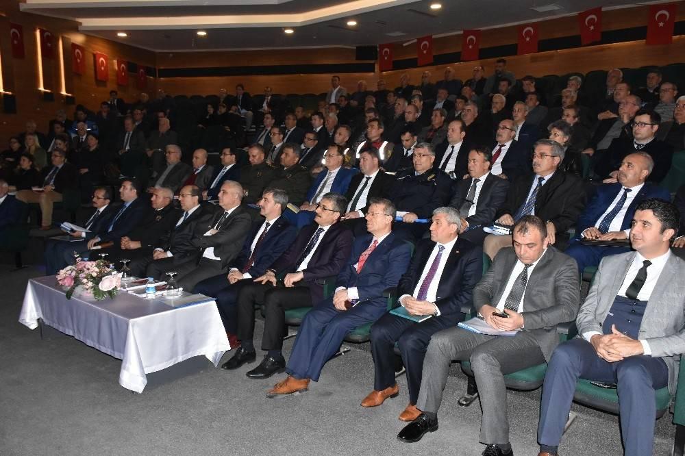 2018 yılı 2. muhtarlar toplantısı Turgutlu'da yapıldı