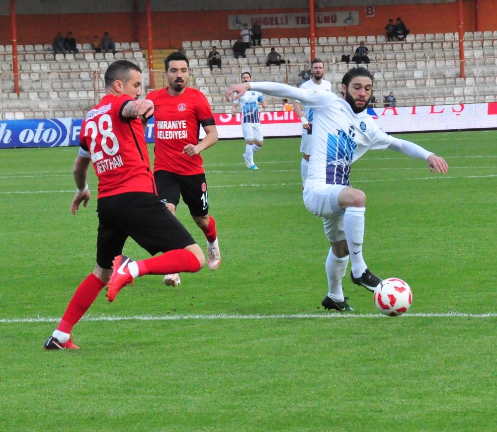 Spor Toto 1. Lig: Adana Demirspor: 0 - Ümraniyespor: 1 (Maç sonucu)