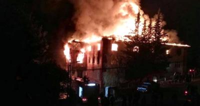 Aladağ'daki 10 Çocuğun Diri Diri Yandığı Yurt Yangını Davasıyla İlgili Skandal Karar!