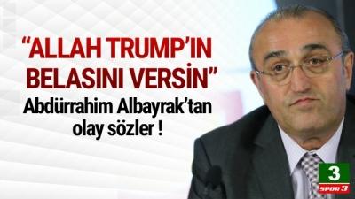 Allah Trump'ın Belasını Versin