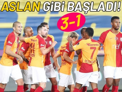 Ankaragücü-Galatasaray maç sonucu: 1-3