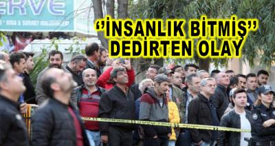 Antalyada İnsanlık Bitmiş Dedirten Olay