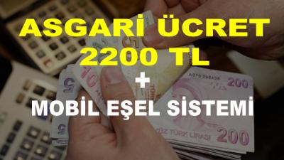 Asgari Ücret 2200 Lira ve Eşel Mobil Sistemi