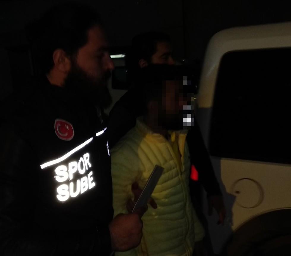 (ÖZEL) Şenol Güneş'i yaralayan kişi gözaltına alındı