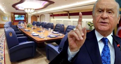 Bahçeli'den Erdoğan'a Hediye Uçak Tepkisi